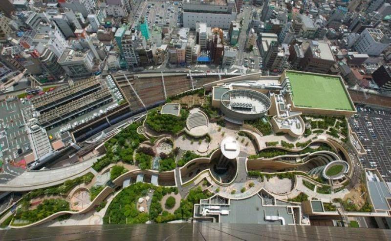 Namba Parks Roof Garden | Osaka, Japan