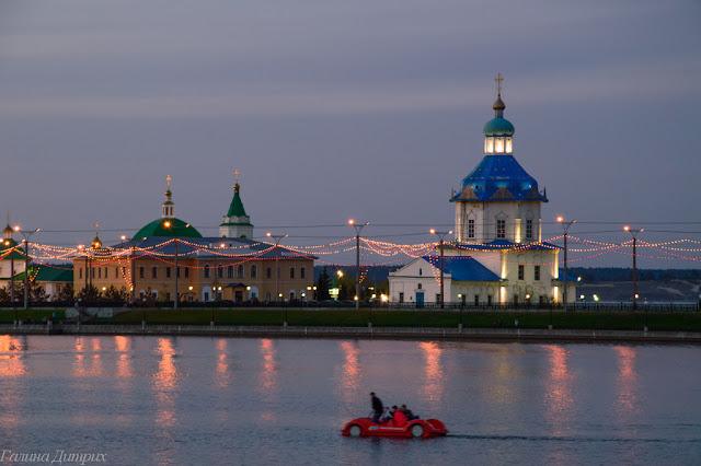 Путешествия: О жизни: Альбом пользователя GalaDietrih: Катамаран на заливе Чебоксары