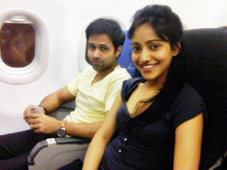 neha sharma in flight with emraan hashmi