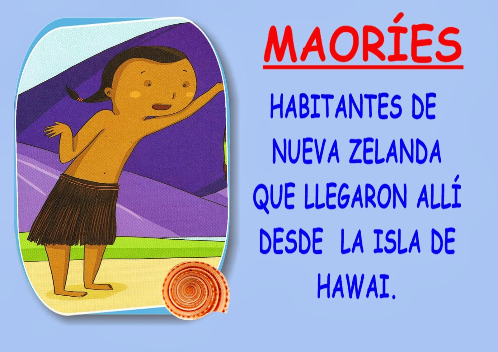 Las cosas que aprendo aprendemos cosas de los maor es for Palabras maories