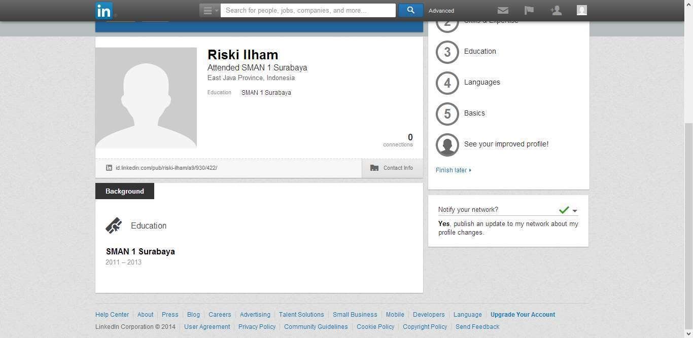 Cara Membuat Akun di LinkedIn dengan Mudah 5