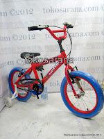 1 Sepeda Anak United Helichop Rangka Aloi 16 Inci