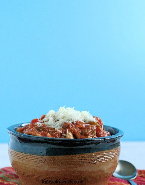 {Slow Cooker} Lasagna Soup by The Rookie Cook ~ A hearty fall soup