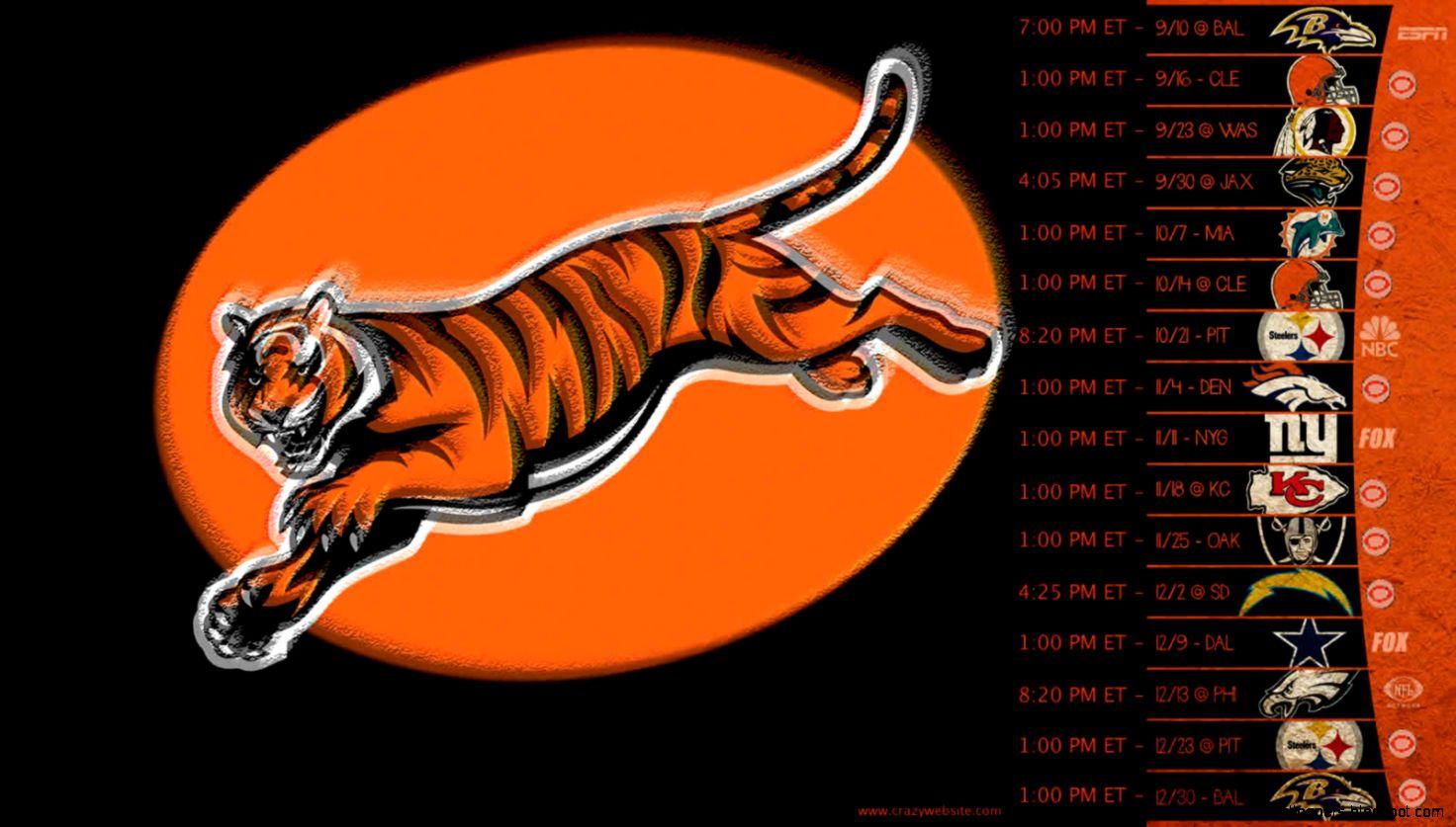 Cincinnati Bengals 2012 Game Schedule Football Team Wallpaper