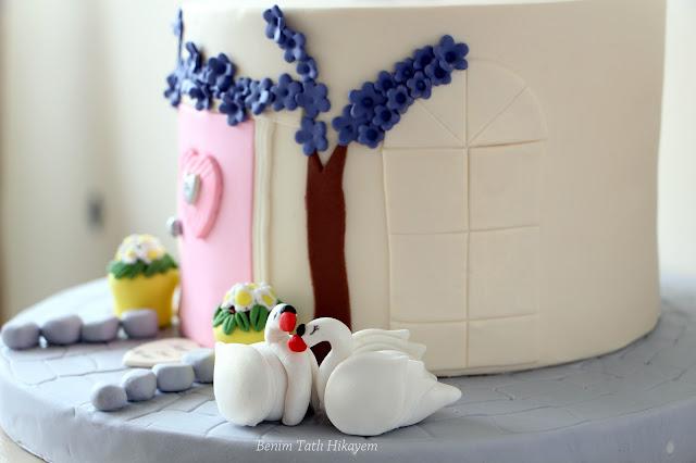 bekarlığa veda pastası
