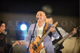ali azmat singing with meesha shafi at atif aslam wedding