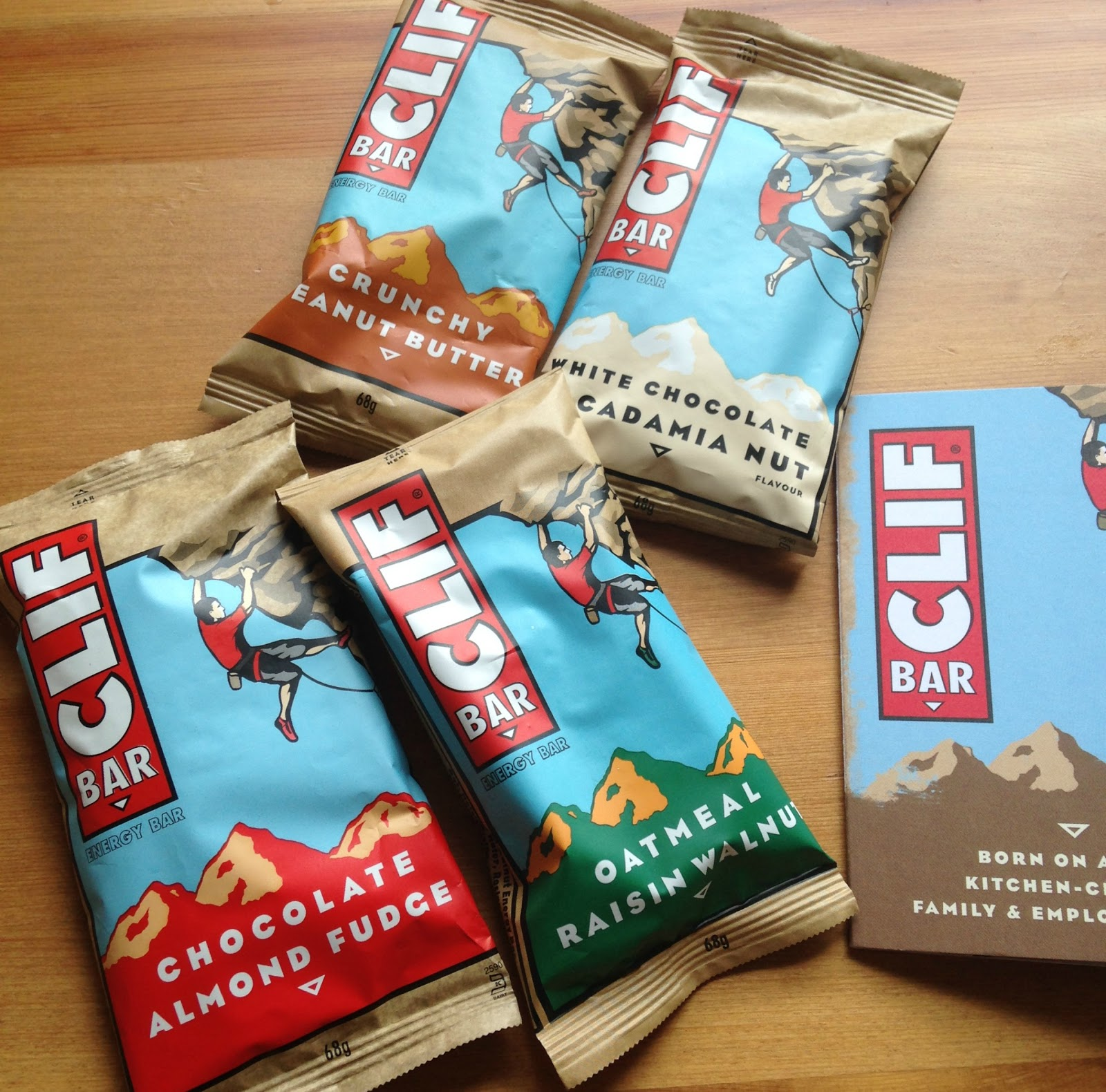 Clif energy bars review