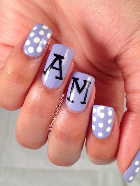 Nail Design With Initials ~ Initial nails nail art gallery