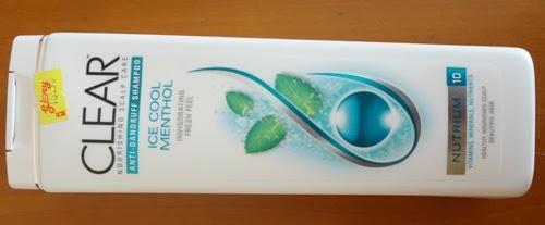 HARGA Syampu CLEAR Ice Cool Menthol