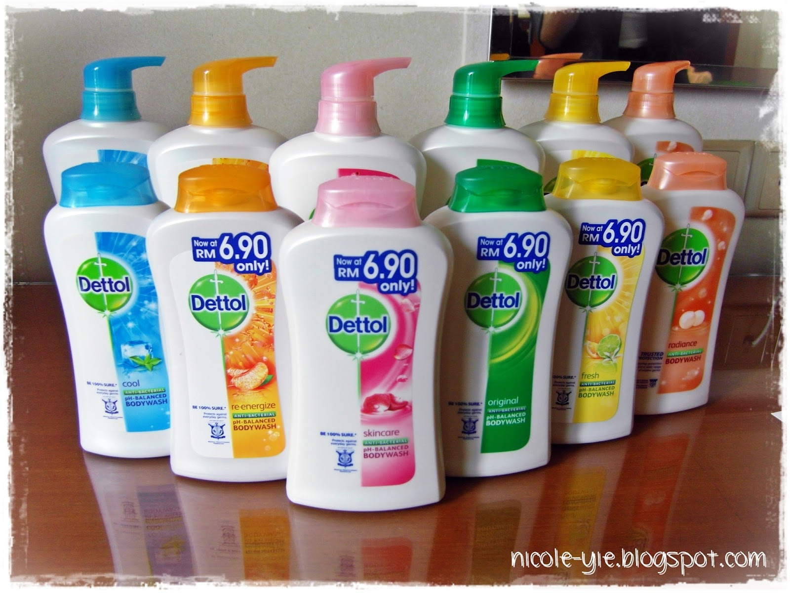 Sponsored Post Dettol Ph Balance Shower Gel Review Nicole Yie Detol Bodywash Balanced Body Wash Is Available In 7 Variants At Retail Stores Nationwide