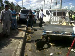 Cuatro muertos en tiroteo en avenida Las Américas