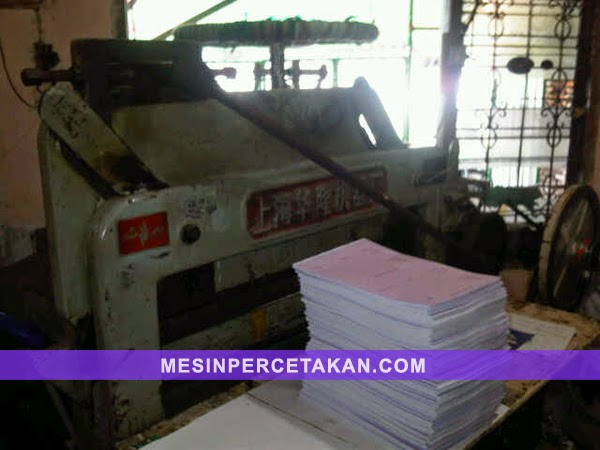 DQ201-mesin potong kertas bekas