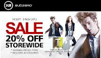 SUB Subzero Sale 2012