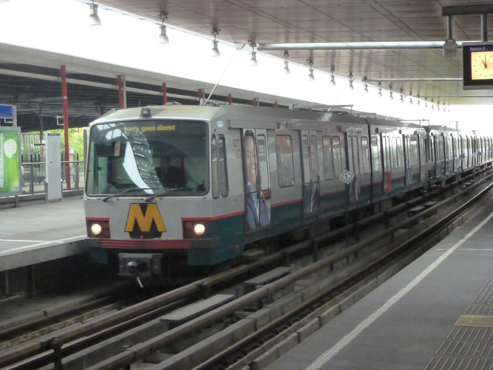 metro kralingse zoom rotterdam