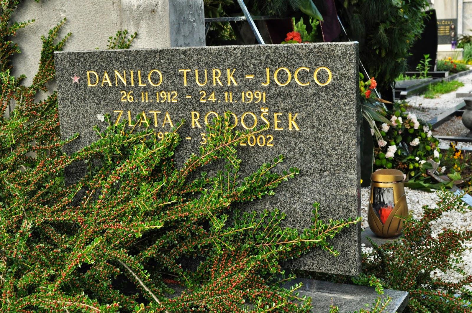 Zlata Rodošek in Danilo Turk-Joco