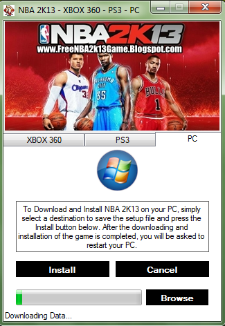 how to get nba 2k13 for free pc