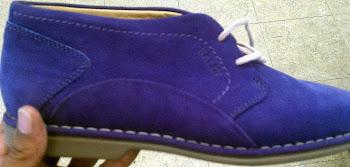 Classic Bally..... Kelton Purple Nubuck
