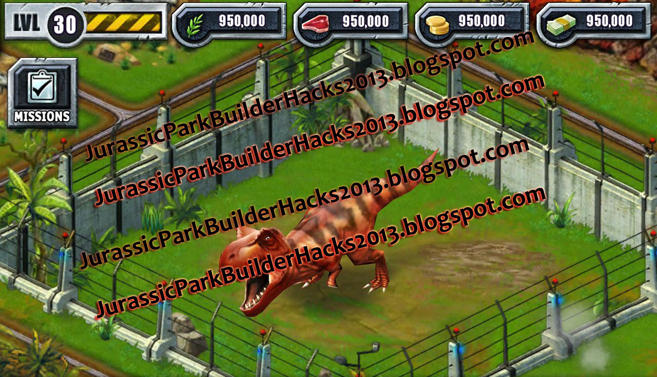 Jurassic park builder hacks and cheats - Jurassic park builder decorations ...