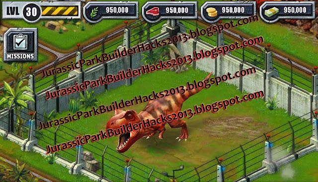 September 2013 jurassic park builder hacks and cheats - Jurassic park builder decorations ...