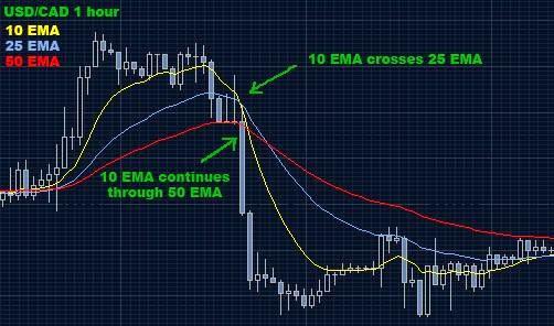 Ema crossover trading strategie