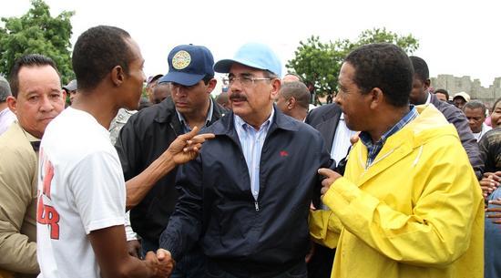 Presidente Medina viaja al sur zonas afectadas