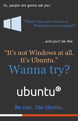 Ubuntu lebih keren ketimbang Windows