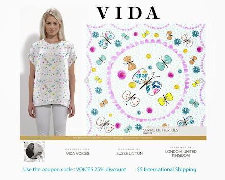 Spring Butterflies at Vida
