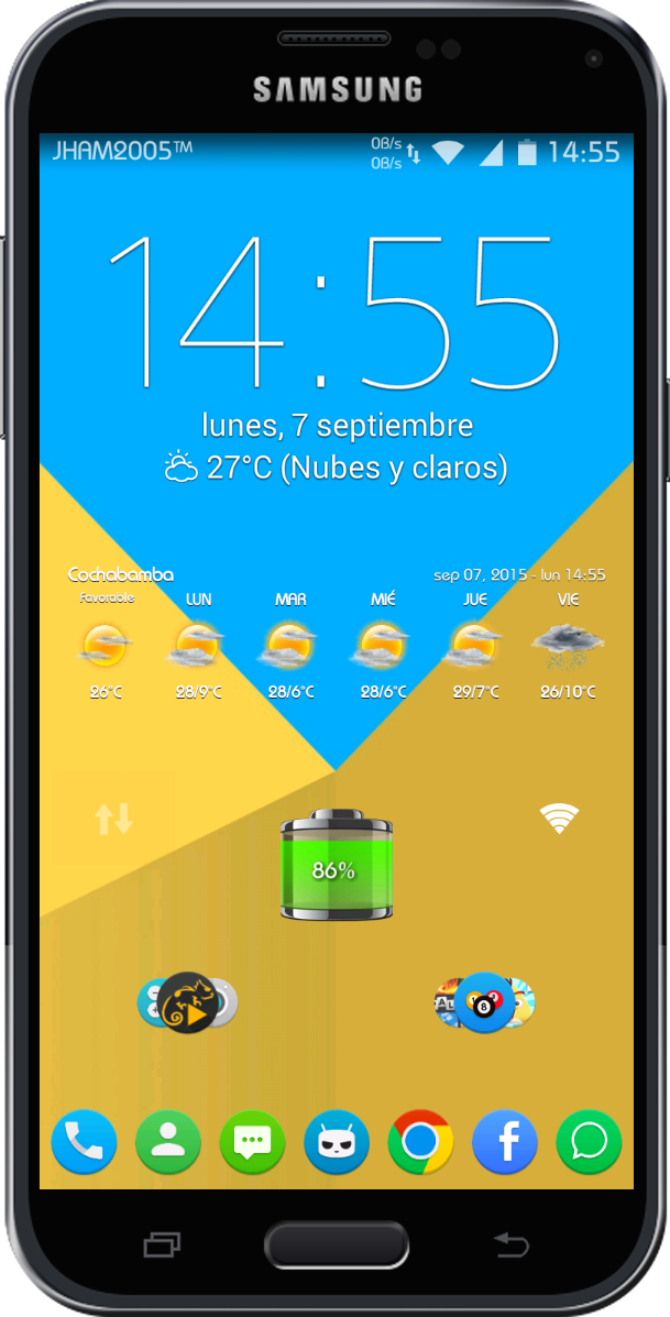 how to get different lock screen clocks xperia