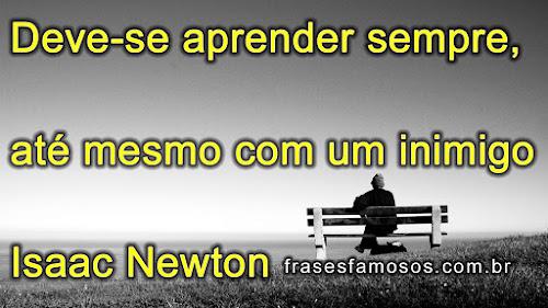Frase de Isaac Newton