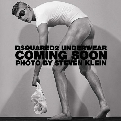 Matt Woodhouse by Steven Klein for DSqaured2 Underwear