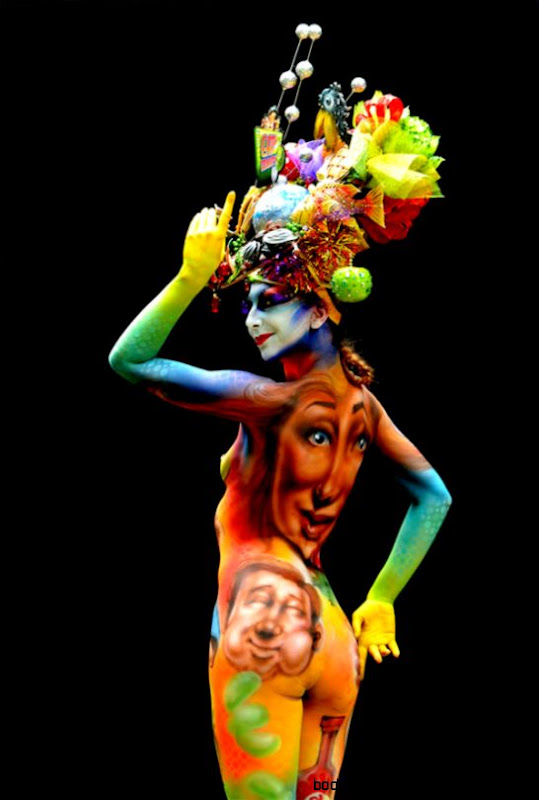 Stunning Body Art Unveiled At The 16th World Bodypainting Festival