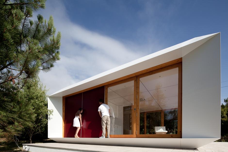 Mima house uma casa pr fabricada e low cost made in - Casas prefabricadas low cost ...
