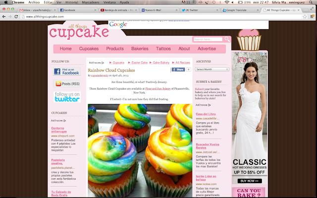 Cupcakes cupcakes cupcakes Silvia Quiros SQ Beauty