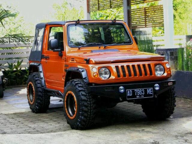 Mobil Suzuki Jimny Katana Sanctuary orange_4