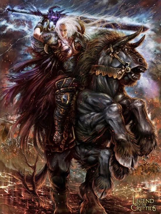 Pablo Fernandez TheBastardSon deviantart ilustrações fantasia games