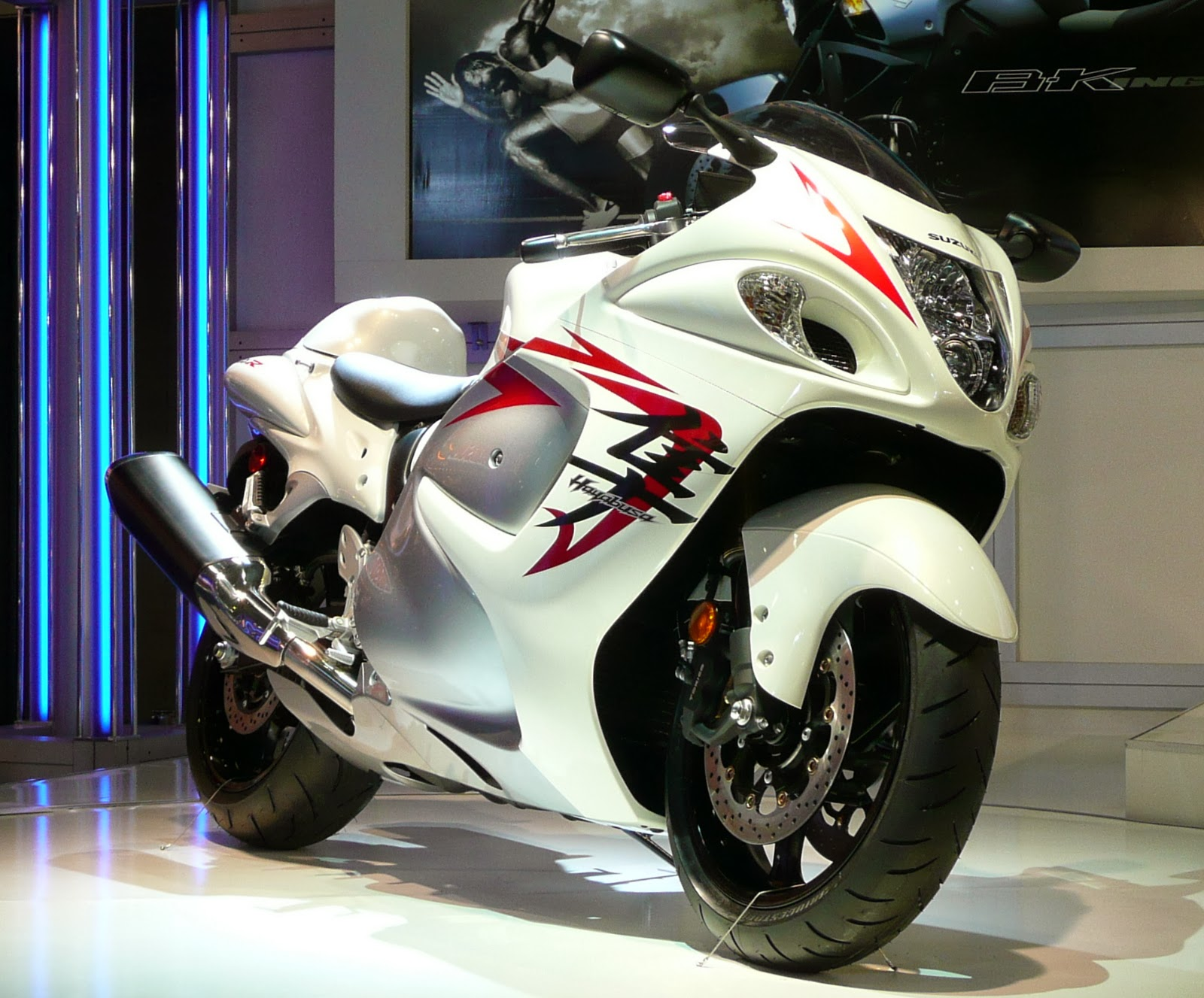 Suzuki hayabusa is a sport bike motorcycle made by suzuki since 1999 it immediately won acclaim as the world s fastest production motorcycle with a top