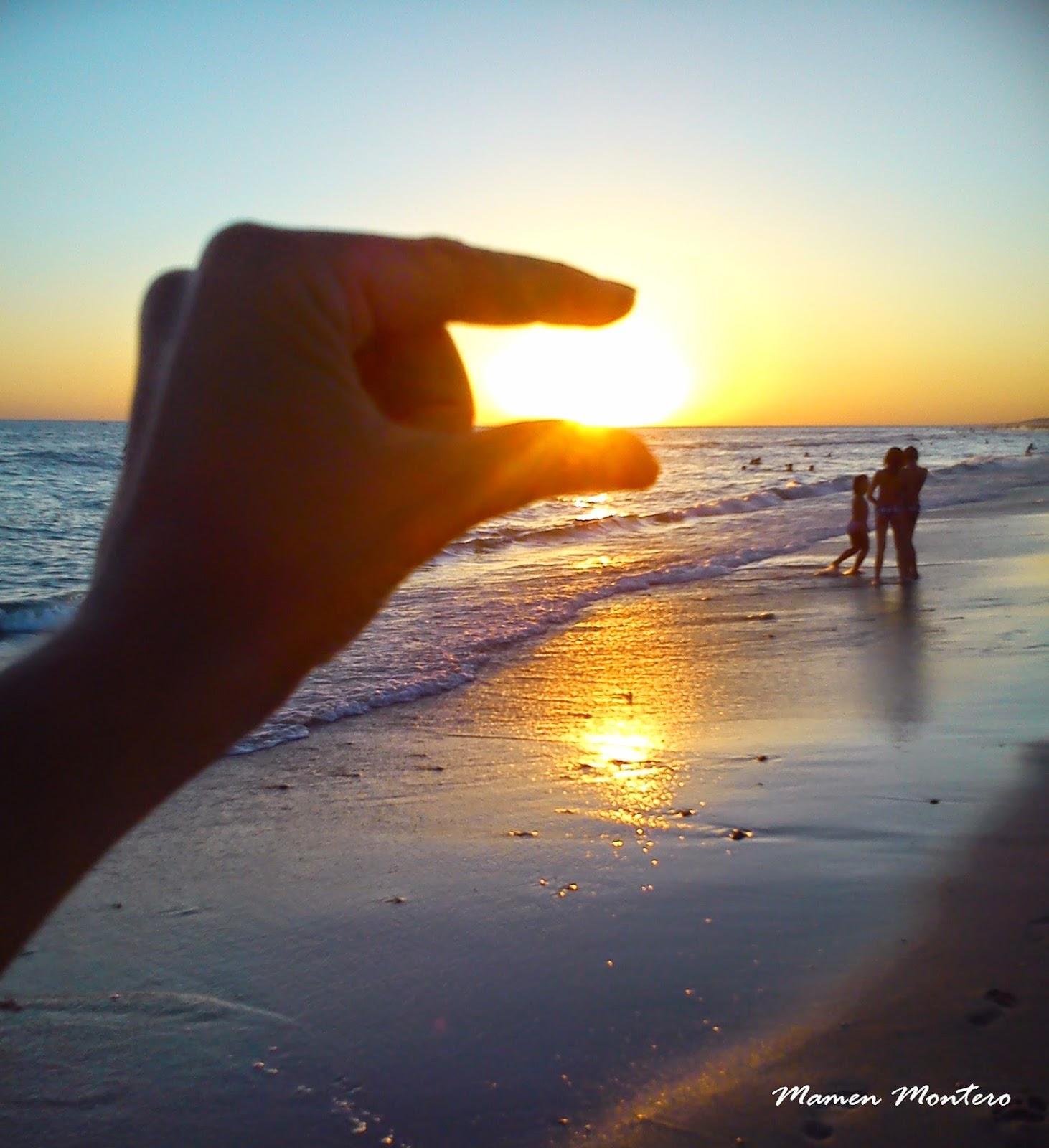 Cogiendo el sol en Matalascañas