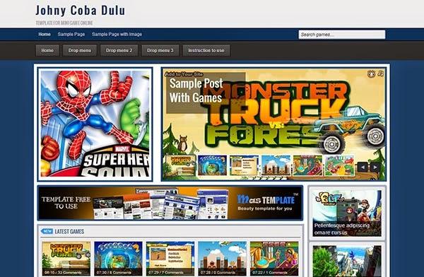 Johny Coba Dulu Responsive Blogger Template