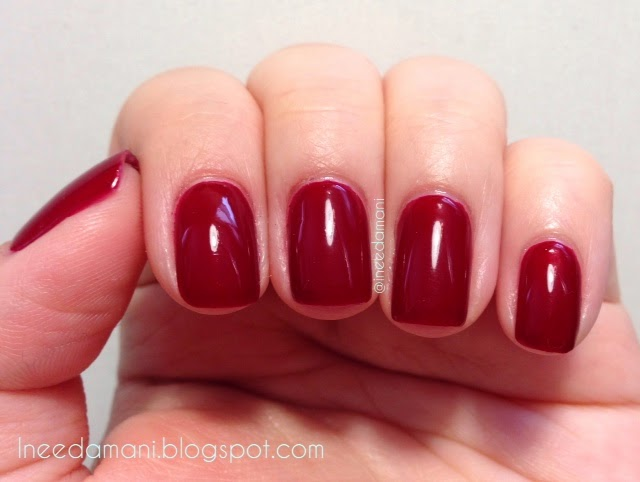 butter london saucy jack nail polish swatch