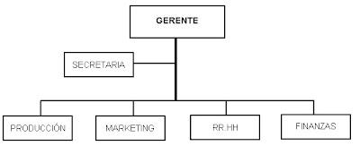 organigrama informativo