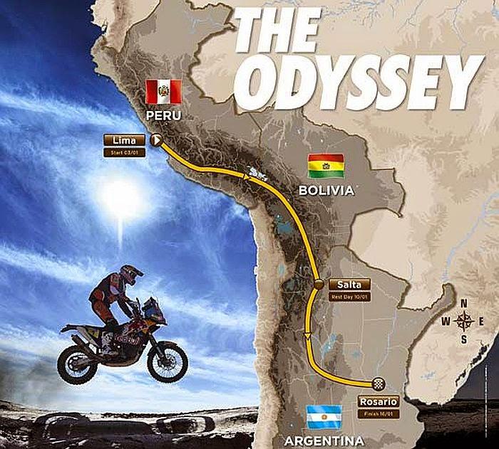 El Rally Dakar en Bolivia