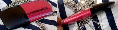 Coloressence Intense Liquid Lip Color - Antique Ruby review, Coloressence Intense Liquid Lip Color review, Coloressence Intense Liquid Lip Color Antique Ruby swatch, Coloressence Intense Liquid Lip Color Antique Ruby on lips, Affordable liquid lipstick review, Indian beauty blog, Coloressence Intense Liquid Lip Color Antique Ruby price, Coloressence Intense Liquid Lip Color Antique Ruby