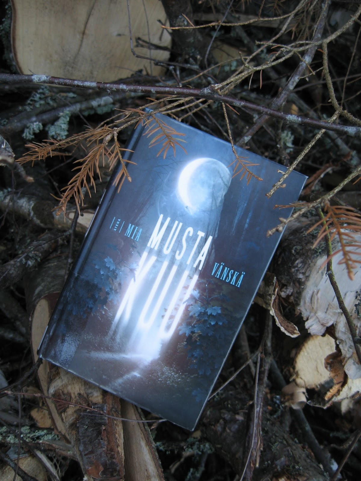 Musta Kassi Kuu : There s no such thing as too many books musta kuu mia v?nsk?