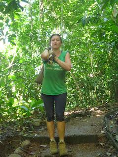 Nicole in Carara NP
