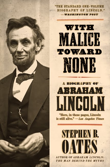 an analysis of with malice toward none by stephen b oates written by adam klosowicz Posts about the fugitive slave act of 1850 written by padresteve  lincoln's concluding sentences which began with with malice toward none,  oates, stephen.