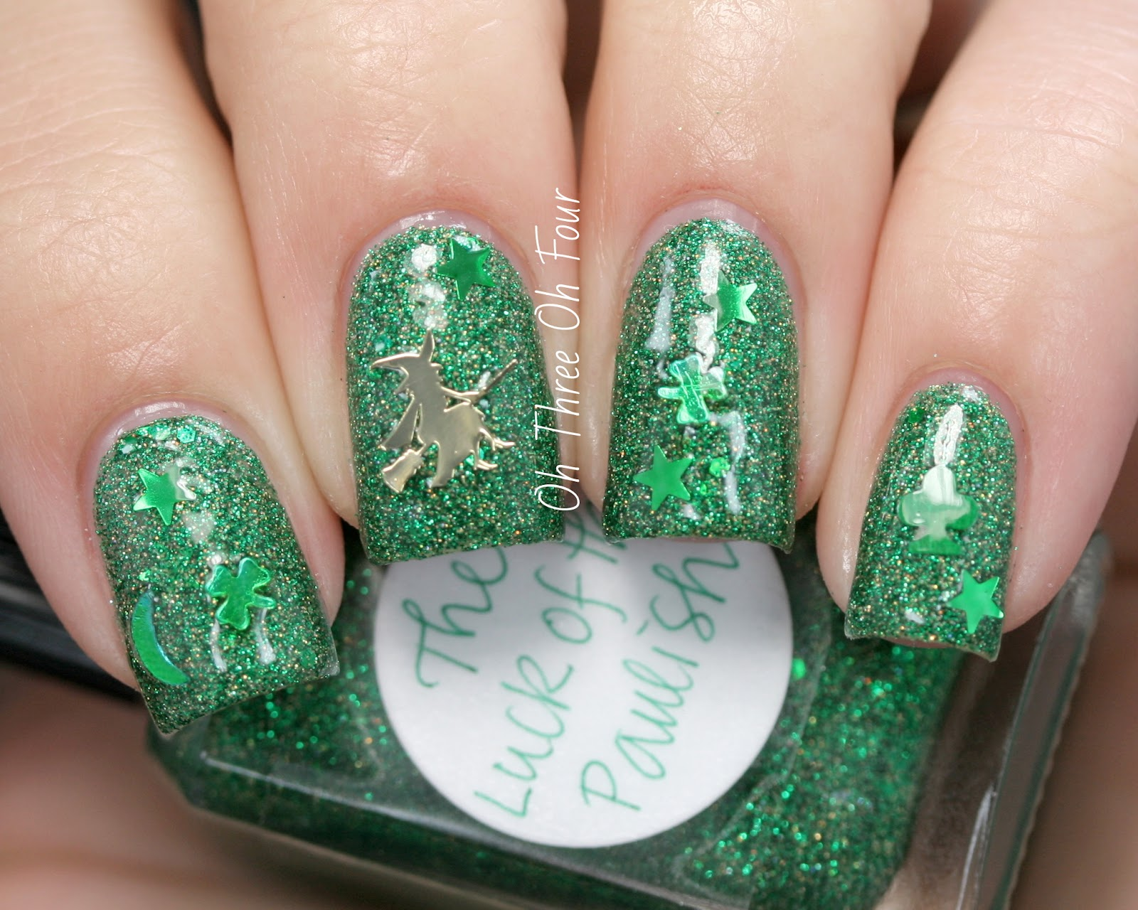 Lynnderella The Luck of the Paulish Swatch