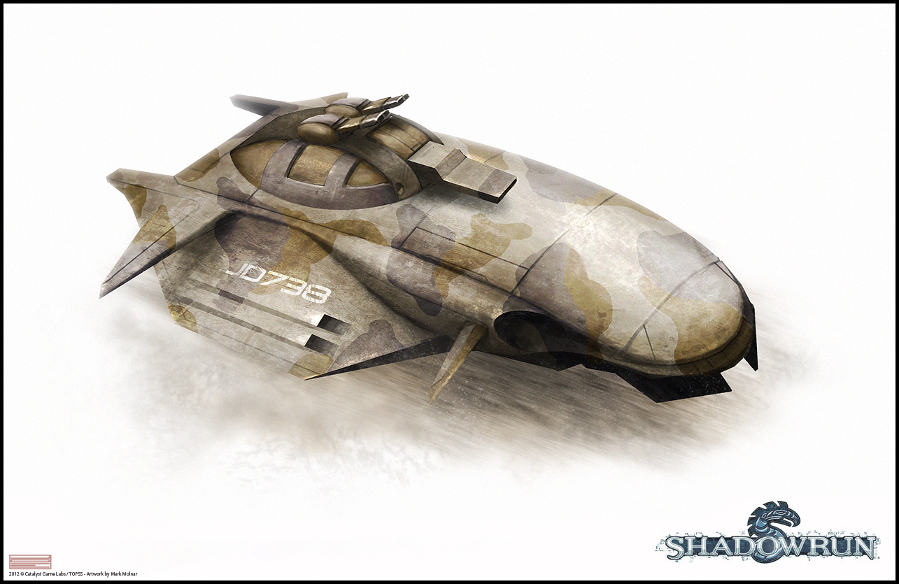 Shadowrun Main Battle Tank