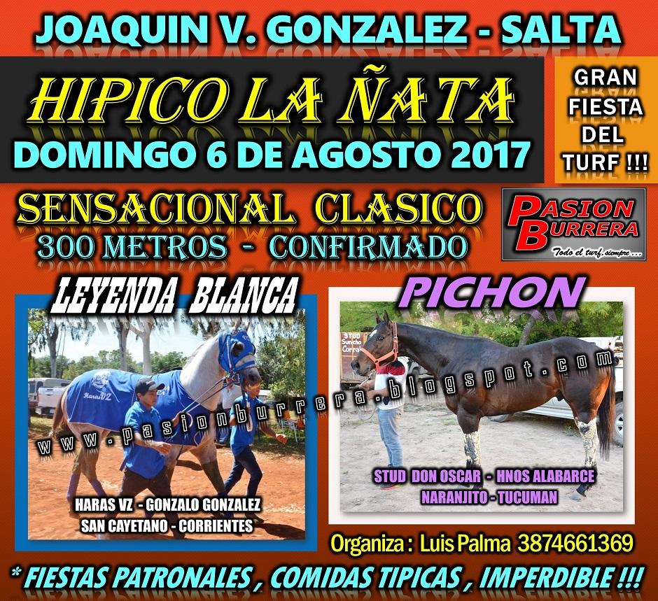 HIPICO LA ÑATA - 300 - 6 DE AGOSTO