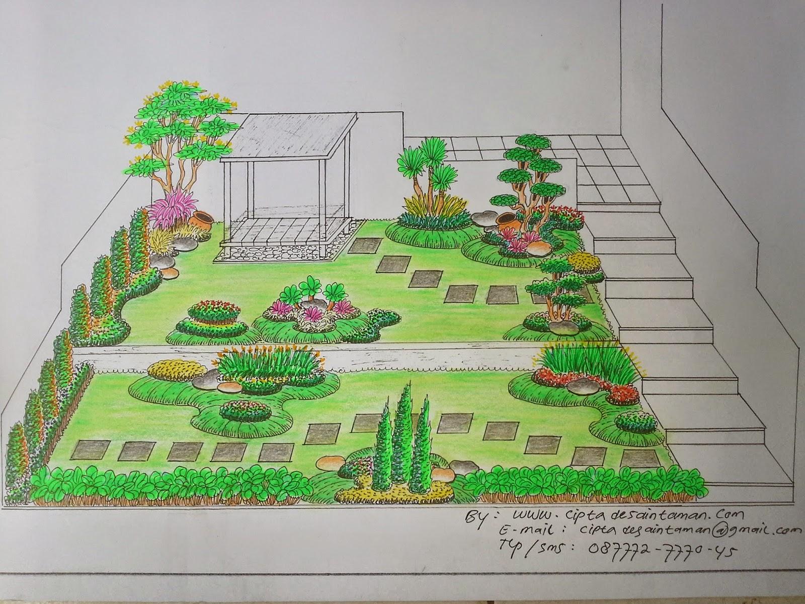 Design Landscape Tukang Tamantaman Rumah Arsitek Taman