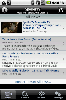 The SpoilerTV App for Android, iPhone, and iPad  *Updated 12th March*